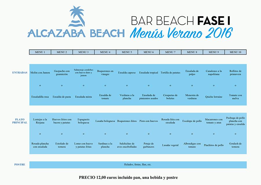 Apertura del Bar Beach Fase I en verano